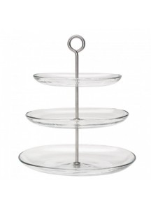 3 Tier Cake Stand (Glass)