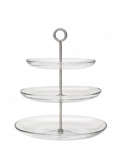 3 Tier Cake Stand (Glass)