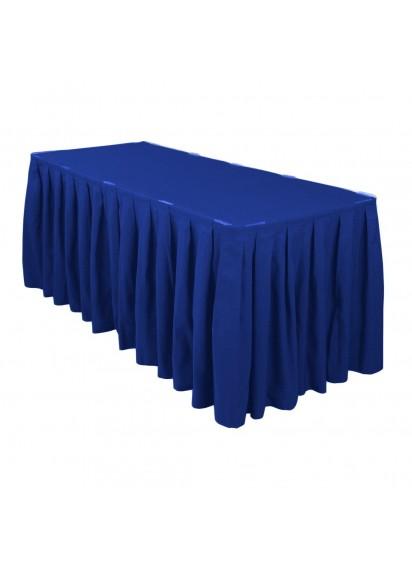 Table Skirting per ft (Royal Blue)