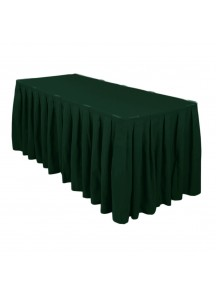 Table Skirting per ft (Hunter Green)