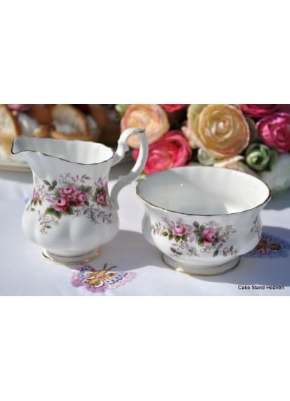 Royal Albert Cream and Sugar Bowl Set