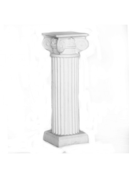 32 Inch Height  White Column