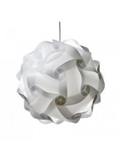 Plastic Lantern w/- Lights