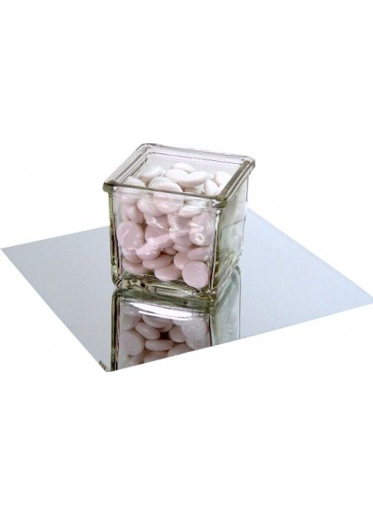 Square Mirror Centerpiece