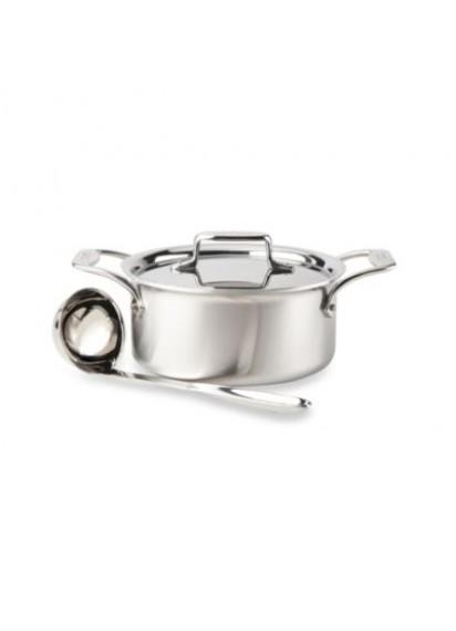 1 qt. s/s gravy pot w/ladle