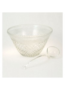 11 qt. Punchbowl with Stand