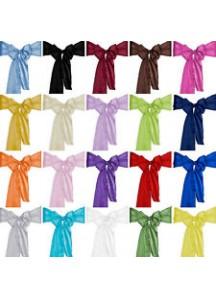 Satin Sashes - Assort. Colours