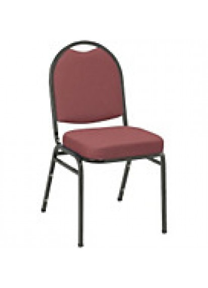 Stacking Banquet Chairs Maroon (padded)