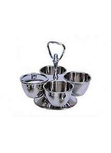 Large Revolving Stand (4 bowls)