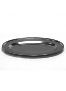 "18"" Stainless Steel Oval Tray"