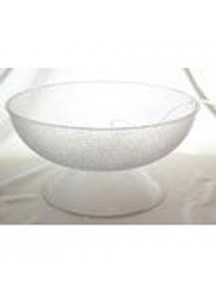 3 Gal. Punchbowl pedestal plastic