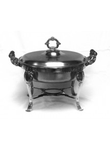 3 qt. Fancy Chafing Dish (round)