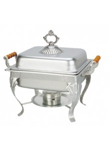 3 qt. Fancy Chafing Dish (square)