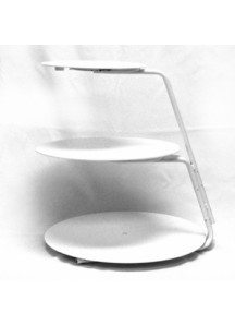 3 Tier Plastic/Metal Cake Stand