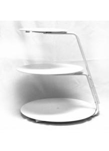3 Tier Plastic/Metal Cake Stand