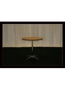 "30"" D. Tables (round) Seats up to 4"