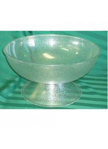 4 Gal. Punchbowl pedestal plastic