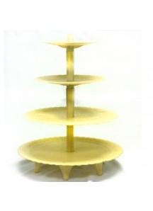 4 Tier Plastic Cake Stand