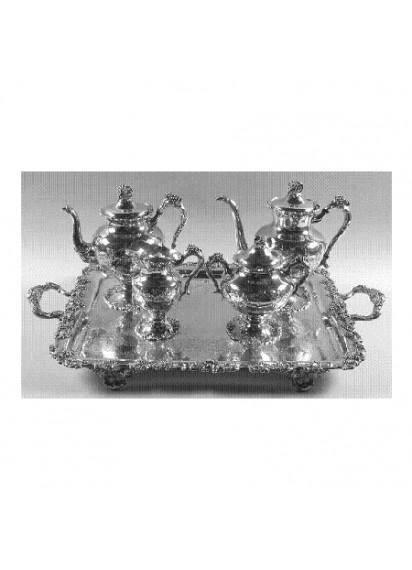5 Piece Silver Tea Service