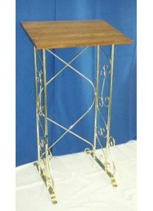 Brass Register/Podium