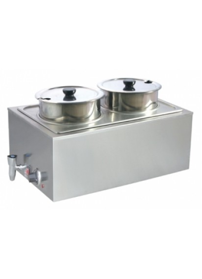 Double Soup Warmer - Electric