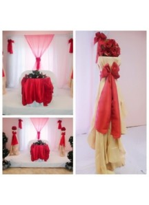 Radiant Red Decore