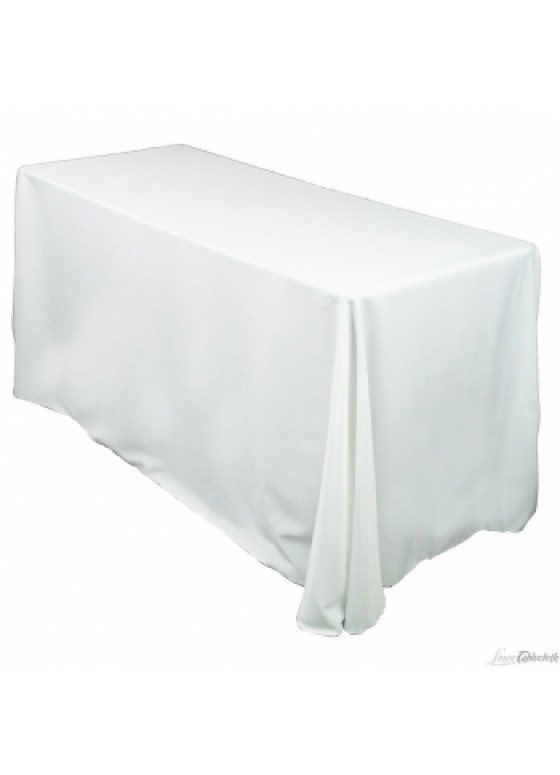 Table Linens Rectangular 90 Quot X 156 Quot White Ivory Black