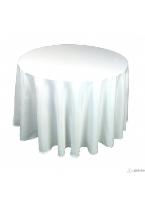 Table linens round 120 white for 120 round white table linens