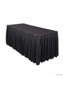 Table Skirting per ft (Black)