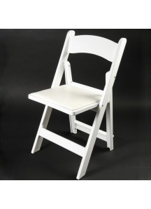 Resin White Wedding Folding Chair