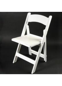 Resin White Wedding Folding Chair