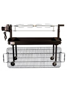 BBQ Spit With Rotisserie