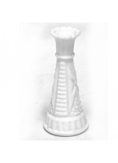 """Bud Vases (6"""" & 9"""") White"""