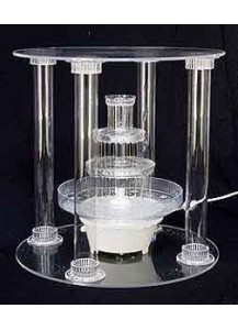 Medium 3 Tier Fancy Cake Stand