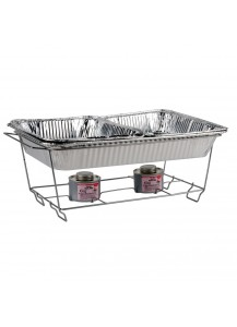 Wire Food Pan Stand