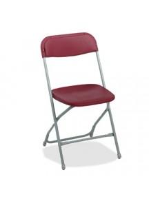 Folding Chairs Burgundy