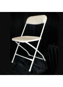 Folding Chairs ivory