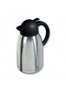 Hot Beverage Server (8-cup) silver-black water only