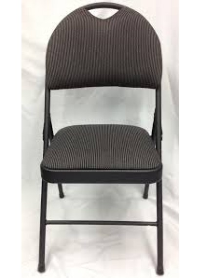 Black Folding Padded Chair New