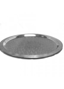 Large Fancy Round Trays (stainless)
