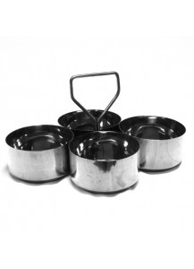 Large Salad Dressing Susan (4 bowls)