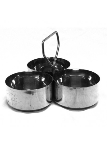 Large Salad Dressing Susan (3 bowls)