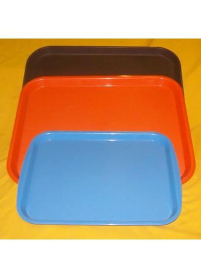 Plastic Trays (rectangular red or orange)