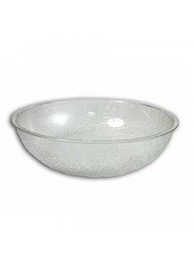 "Salad Bowl 10"" Pebbled Plastic"