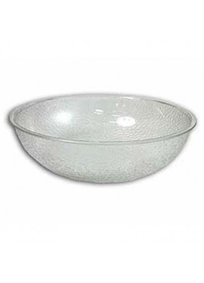 "Salad Bowl 12"" Pebbled Plastic"