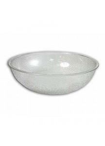 "Salad Bowl 15"" Pebbled Plastic"