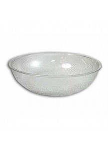 "Salad Bowl 15"" Pebbled Plastic"