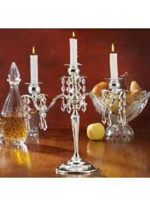 Small Silver Candelabra (3 arm)