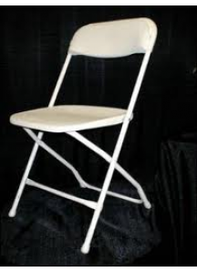 Folding Chairs White (First Grade)