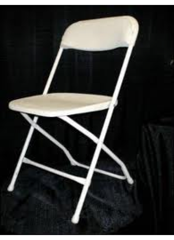 Chairs Folding Chairs White First Grade